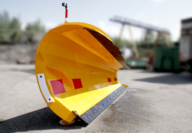 Diagonalplog MSK är avsedd för användning i extremt snörika områden.