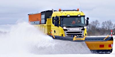 Meiren next generation highway snowplough MSPN4604