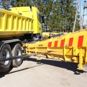 Meiren snow plow KSM for truck