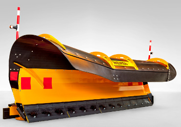 The MSPN-04 snow plough has earned Meiren several awards at trade fairs and competitions