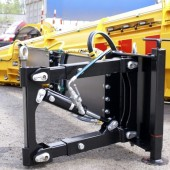 Sidovinge KSR till lastbil är anpassad för fästen som används på den svenska marknaden
