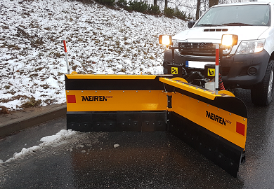 New snow plow VDP for SUV