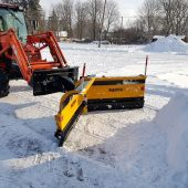 Snow plow VDP2504 for small loader