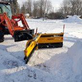 Snöplog VDP2504 för små traktorer