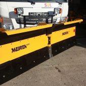 Snöplog VDP2504 för små lastbilar