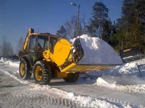 Meiren snöskopa LK