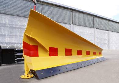 Side snow plow KSR for truck