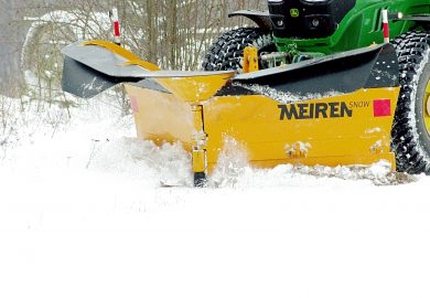 Meiren Schneepflug VTSP 3304 für Traktoren