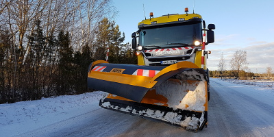 Snow plough MSPN04