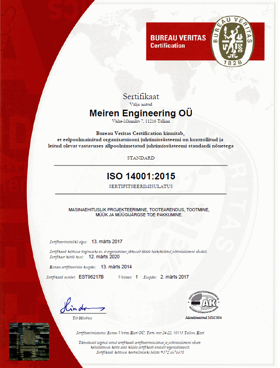 ISO 14001 EST
