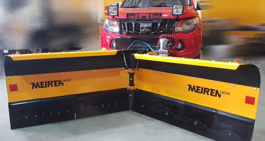 The new VDP2504 snow plow for SUV, light trucks and tractors