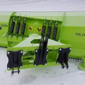 New snow plow TSL for tractor