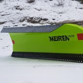New low-cost professional snow plow from Meiren