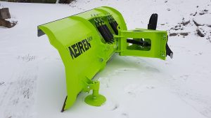 New sturdy and simple TSL snow plow for professionl snow plowing