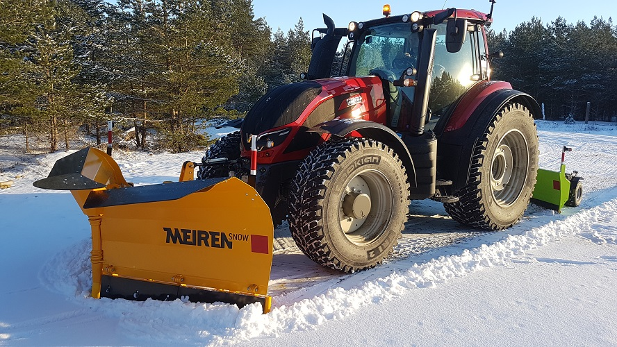 Snow plow VTS02 | Meiren snow plows