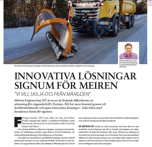 Innovativa lösningar signum för Meiren