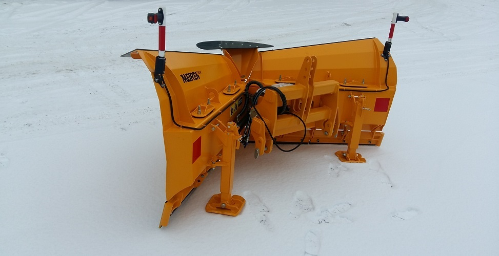 Hauptvorteile des neuen Schneepfluges VTS02: