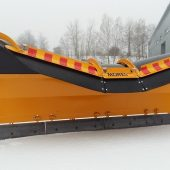 New TSP02 snow plough Twincone