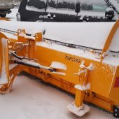 New TSP3703 snow plough