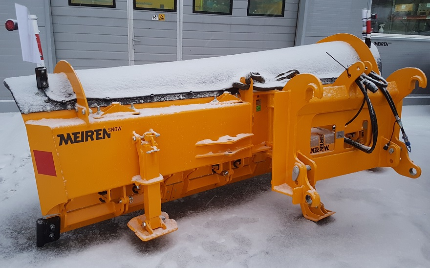 Main advatanges of Meiren new TSP02 snow plow
